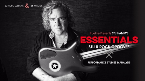 TrueFire Stu Hamm Essentials Rock Bass Grooves 2015